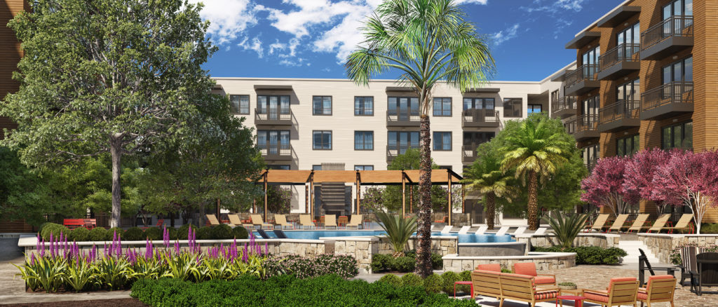 Austin luxury apartment community