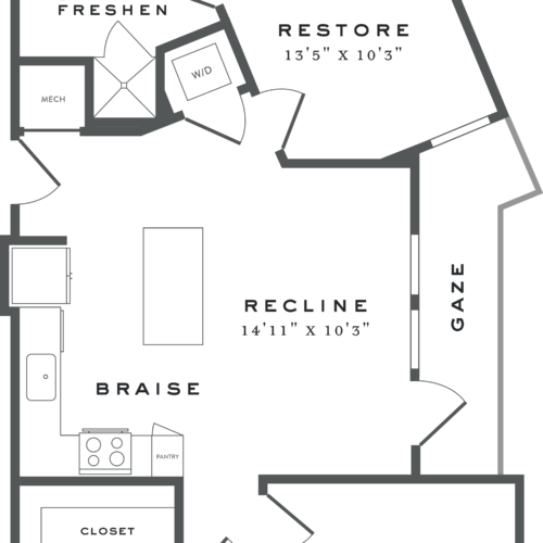 two-bedroom Austin apartments