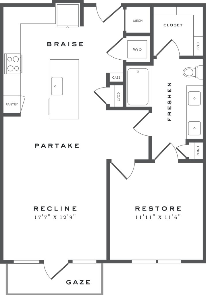 Imagine the Possibilities - A5b one bed/one bath