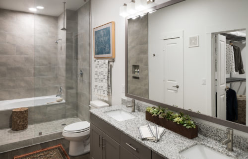 Spa bathroom at Alexan Garza Ranch - Stylish Comfort is Easy to Find