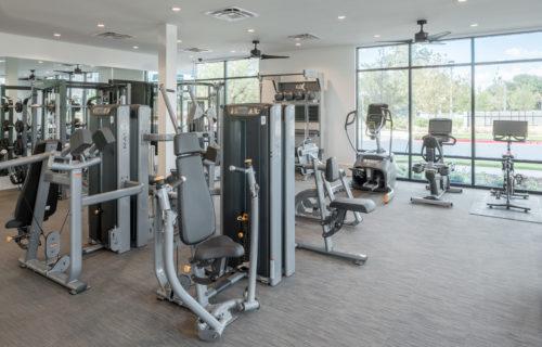 Strength & Cardio Gym - Start Livin' Easy at Alexan Garza Ranch